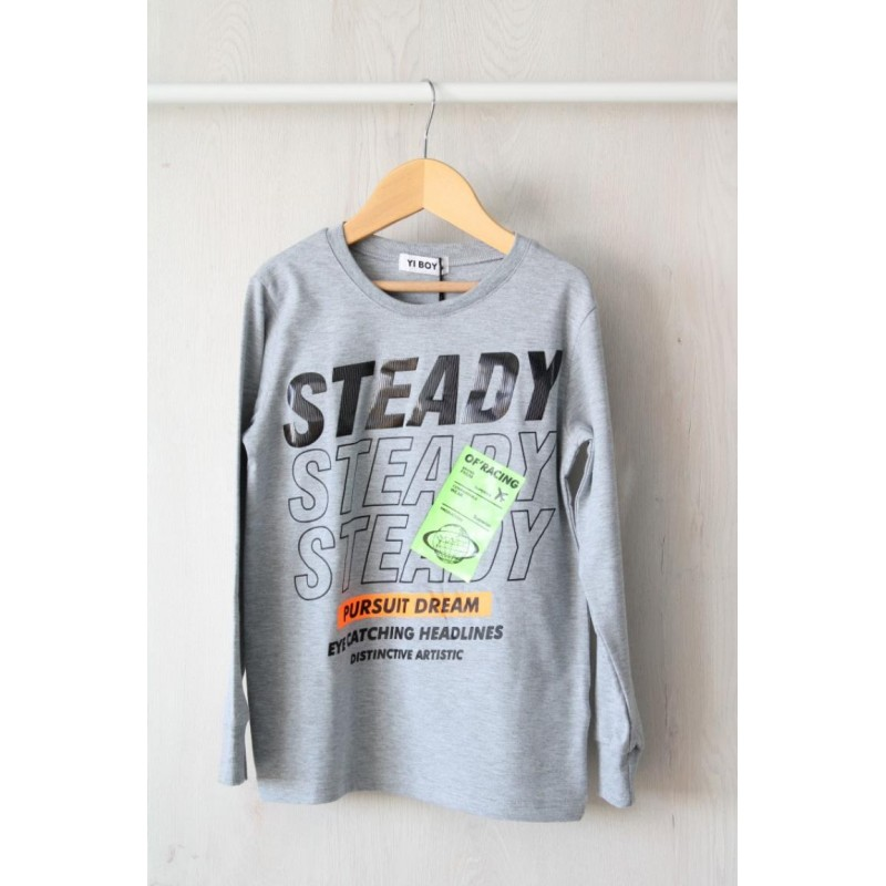 CAMISETA MANGA LARGA  STEADY
