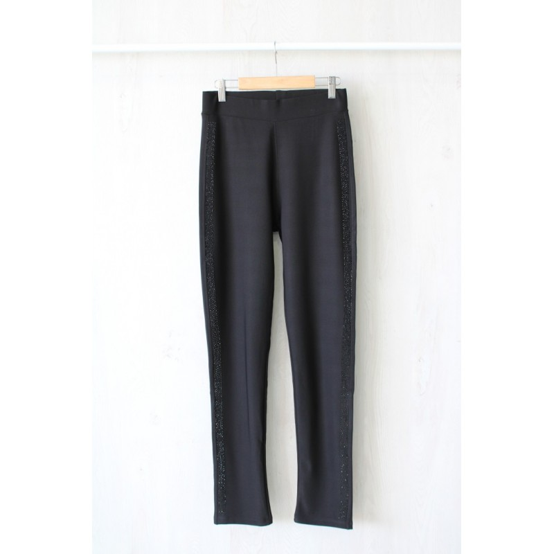 LEGGING BRILLO RAYA LATERAL